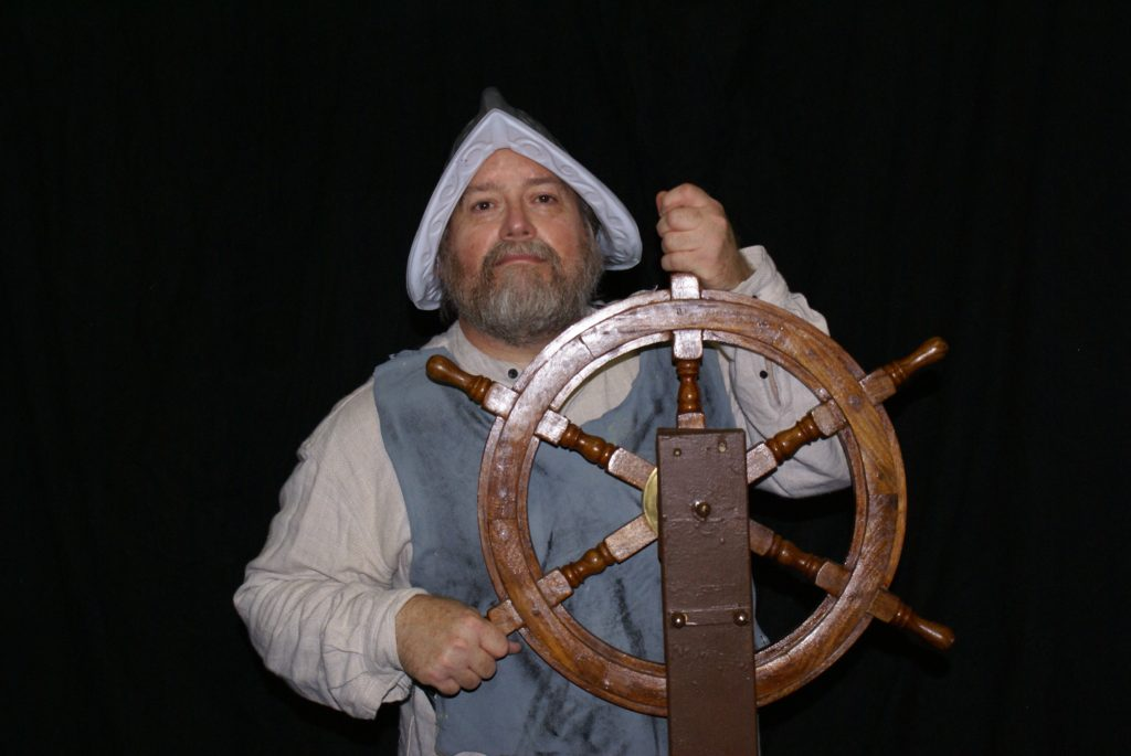 "Craig T. Adams in ""Jamestown"" Children's Theatre of Hampton Roads"